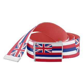 Ceinture patriotique avec le drapeau d'Hawaï,