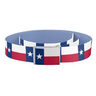 Ceinture patriotique avec le drapeau du Texas,