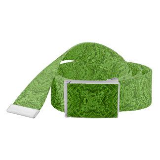 Ceintures vertes allantes   de coutume de