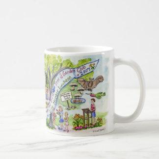 célébration d'arbre et de jardin d'oiseau mug