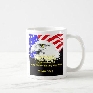 Célébration de la tasse de jour de vétérans de