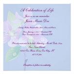 Célébration de la vie faire-part personnalisés