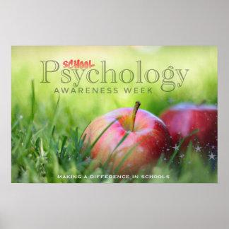 Célébration de l'affiche de semaine de psychologie poster