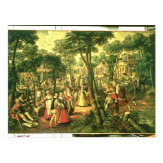 Célébration de pays, 1563 carte postale