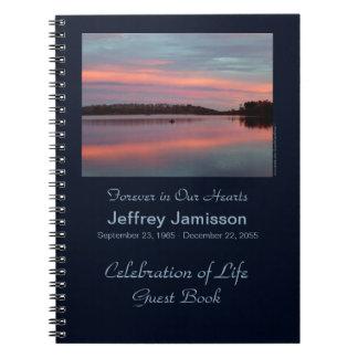 Célébration de pêcheur de livre d'invité de la vie