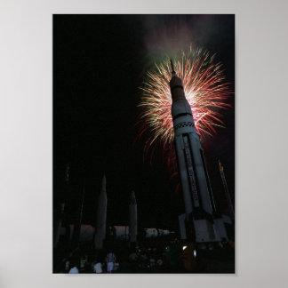 Célébration de Rocket Poster