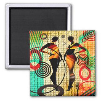 Célébration de style magnet carré