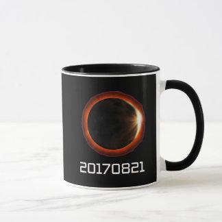 Célébration de total de groupe date/heure de mug