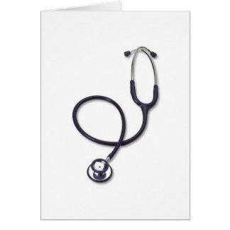 Célébration des soins et de la médecine carte de vœux