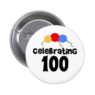 Célébration du 100th anniversaire 100 badges