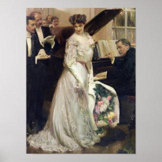 Célébrée, 1906 posters