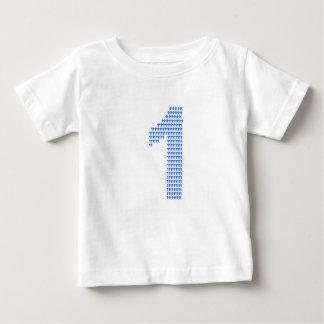 Célébrez être 1 t-shirt pour bébé