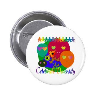 Célébrez la diversité badges