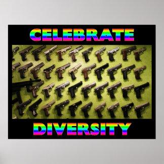 Célébrez la diversité poster