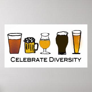 Célébrez la diversité posters