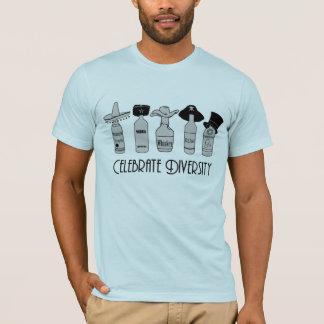 Célébrez la diversité t-shirt