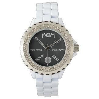 Célébrez la maman montres bracelet