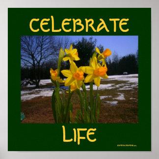célébrez la vie/ressort affiche