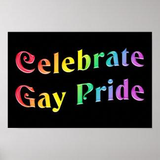Célébrez le gay pride posters