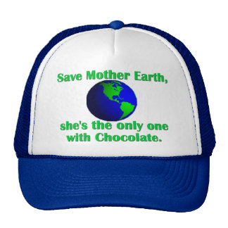 Célébrez le jour de la terre casquette trucker