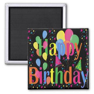 Célébrez le joyeux anniversaire aimant