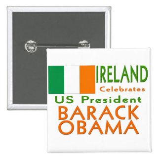 CÉLÉBREZ le Président Obama Inauguration Keepsake Badge Carré 5 Cm