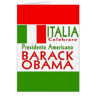 CÉLÉBREZ le Président Obama Inauguration Keepsake Cartes De Vœux