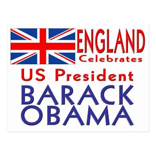 CÉLÉBREZ le Président Obama Inauguration Keepsake Cartes Postales