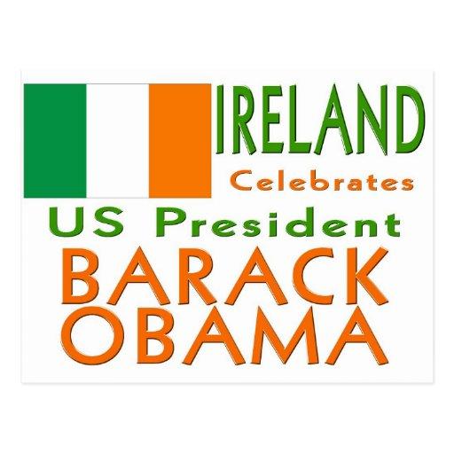 CÉLÉBREZ le Président Obama Inauguration Keepsake Carte Postale