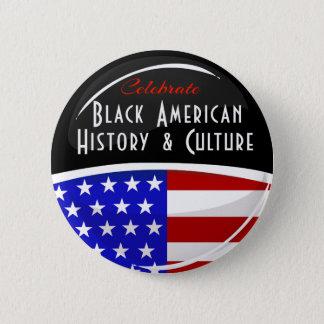 Célébrez l'emblème brillant d'histoire américaine badges