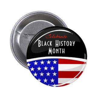 Célébrez l'événement noir de mois d'histoire pin's