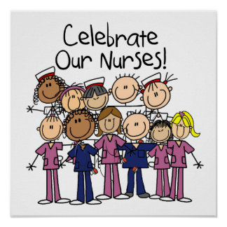 Célébrez nos infirmières poster