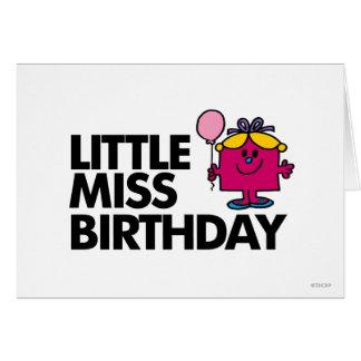Célébrez petite Mlle Birthday Carte De Vœux