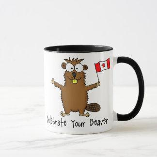 Célébrez votre tasse de castor