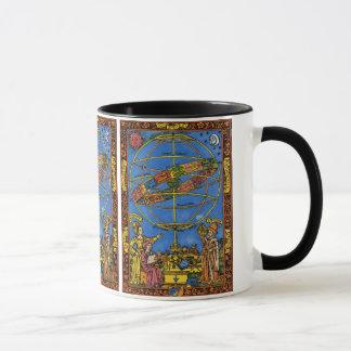 Céleste vintage, astronome Claudius Ptolémée Mug