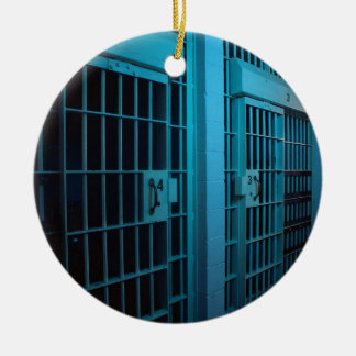 CELLULE DE PRISON ORNEMENT ROND EN CÉRAMIQUE