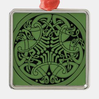 Celtic celtic-42345__340 (1) Knotwork Ornement Carré Argenté