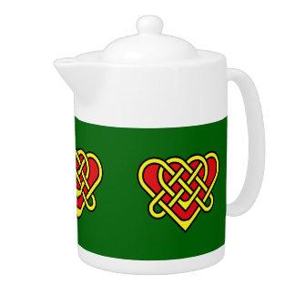 Celtic de Scotalnd/conception de coeur brided par