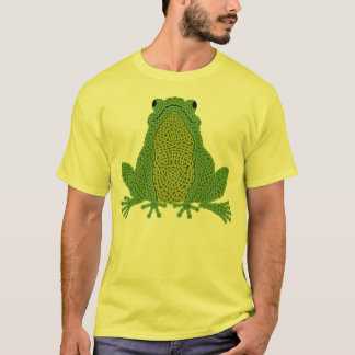 Celtic Frog - Green T-shirt