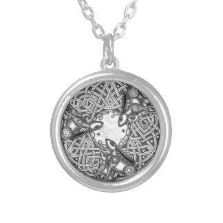 Celtic, lièvre de observation de lune collier