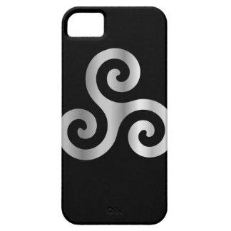 Celtic Neopaganism triskelion.jpg en spirale Coques iPhone 5 Case-Mate
