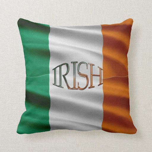 Celtic patriote Irlande de drapeau irlandais Oreillers