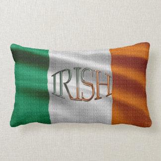 Celtic patriote Irlande de drapeau irlandais Coussin