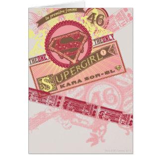 Celui le seul Supergirl Cartes