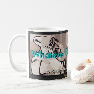 """Celui qui l'évangile est…"" Tasse de café"