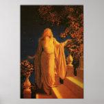 Cendrillon, beaux-arts de Maxfield Parrish Posters