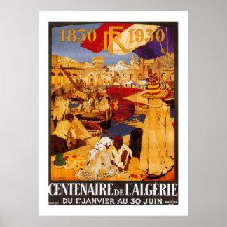 Centenaire de L Algerie Poster
