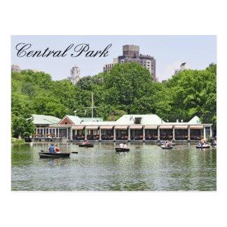Central Park - Boathouse de Loeb Carte Postale