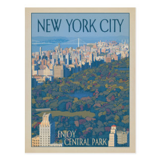 Central Park de New York City | Carte Postale