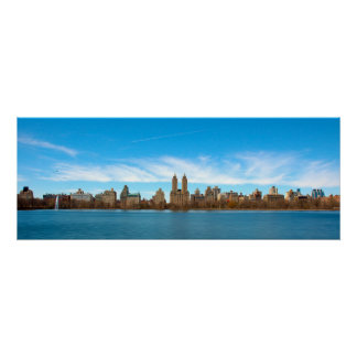 Central Park panoramique Poster
